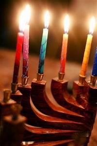 Beautiful Menorah and candles. #hanukkah #chanukkah # ...