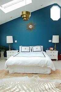 Déco Chambre Bleu Canard : chambre bleu canard avec quelle couleur accords classe ~ Melissatoandfro.com Idées de Décoration
