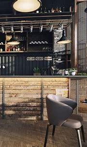 industrial design cafe on Behance | Design, Interior ...