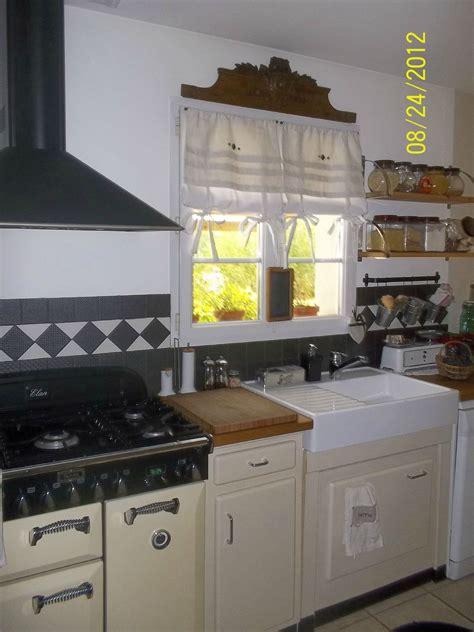 robeau de cuisine idees modernes pour les rideaux de cuisine