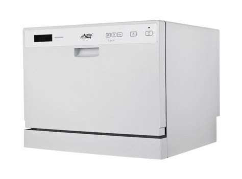 small countertop dishwasher new portable compact midea arctic king adc3203d countertop
