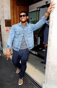 Usher Denim Jacket - Usher Looks - StyleBistro