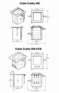 Cable Cubby 500
