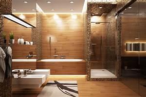 Holz Im Nassbereich : naturmaterialien im nassbereich ~ Markanthonyermac.com Haus und Dekorationen