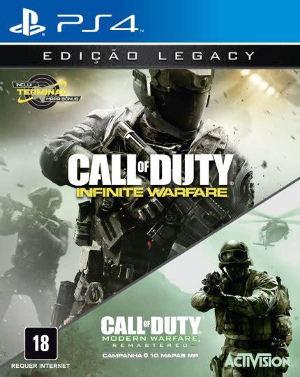 call  duty infinite warfare legacy edition ps