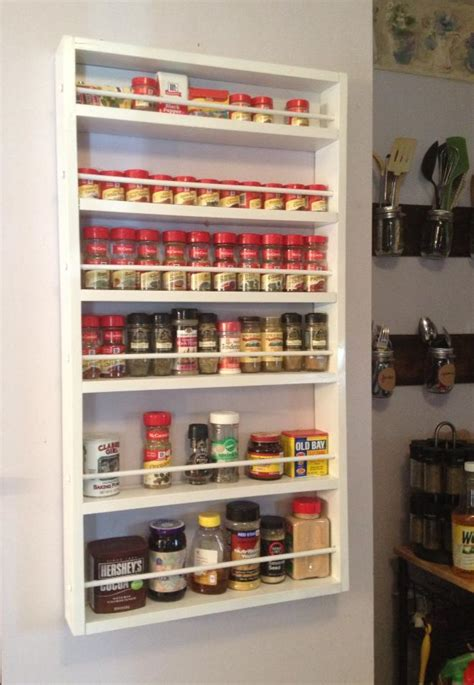 Spice Rack For Pantry by White Spice Rack Diy Projects