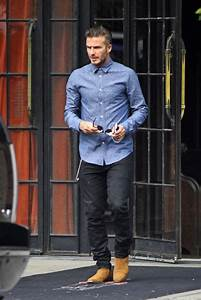 David Beckham where did you get your suede boots? | David ...