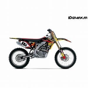 Moto Cross Suzuki : kit deco rockstar makita series for suzuki rmz ~ Louise-bijoux.com Idées de Décoration