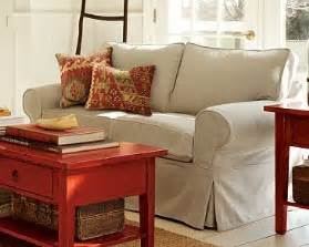 Collection Of Studio Day Sofa Slipcovers pottery barn basic loveseat