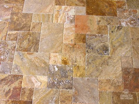 scabos travertine scabos travertine versailles pattern brushed chiseled ebay