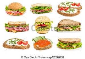 Stock de Ilustraciones collage, sándwiches stock de ilustracion, ilustracion libre de, stock