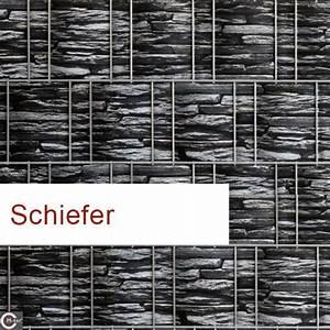 Sichtschutzstreifen Zum Einflechten : sichtschutz streifen polyester beidseitig bedruckt motiv schiefer ~ A.2002-acura-tl-radio.info Haus und Dekorationen
