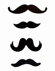 Free mustache template clipart best for Free printable mustache