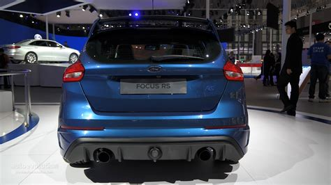 ford focus rs arriving  china   shanghai auto