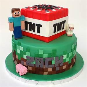 Minecraft Cake - CakeCentral com