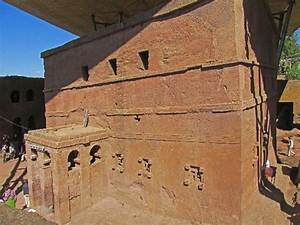Bet Maryam (rock hewn church), Lalibela, Ethiopia