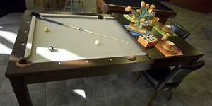 Table À Manger Billard : une table de billard pour petits espaces isabelle audet design ~ Melissatoandfro.com Idées de Décoration