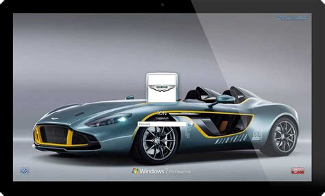 Aston Martin Cars Windows 7 And Windows 8 Theme