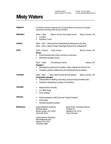 resume sle caregiver position 28 images elderly