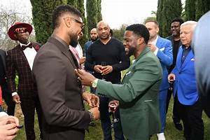 Usher and Kevin Hart at the 2020 Roc Nation Brunch in LA ...