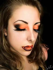 Gruselige Hexe Schminken : halloween schminke von eva pernas faszinierende ideen f r die lippen ~ Frokenaadalensverden.com Haus und Dekorationen