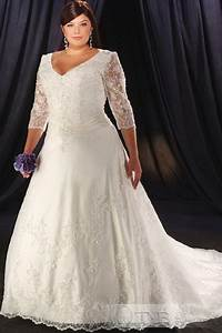 wedding dresses for big women With wedding dresses for bigger ladies