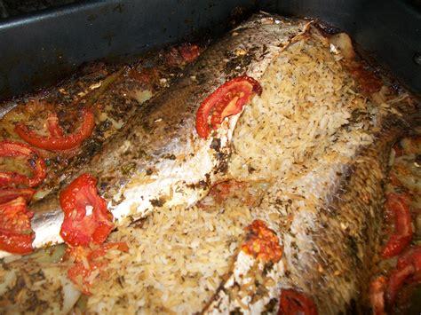 poisson cuisine marocaine poisson farci au riz choumicha cuisine marocaine