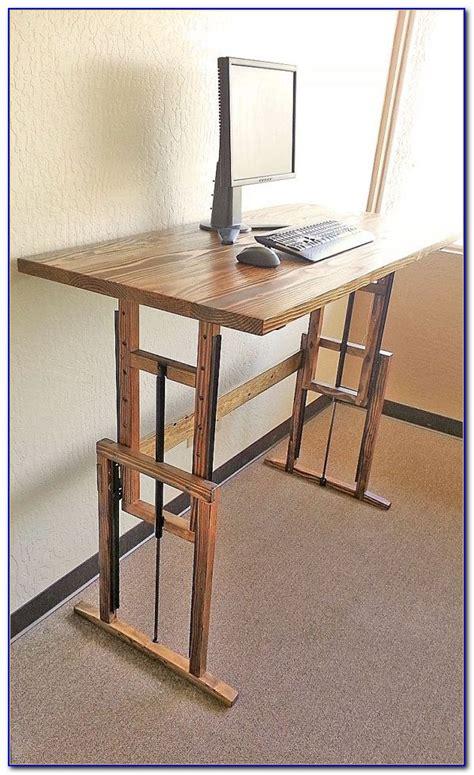 diy height adjustable desk diy adjustable height computer desk desk home design