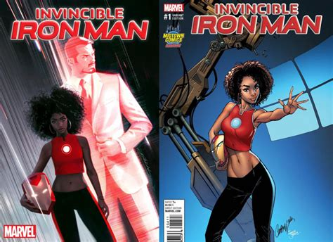 Marvel's New Riri Williams Cover Upsets Fans Because Of