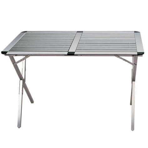 table mobilier cing table cing aluminium highlander