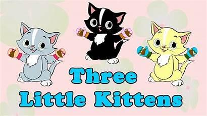 Kittens Three Nursery Rhymes