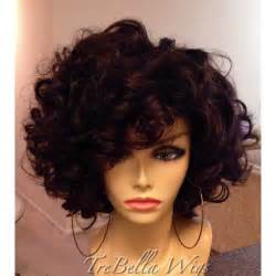 Natural Curly Bob Wig