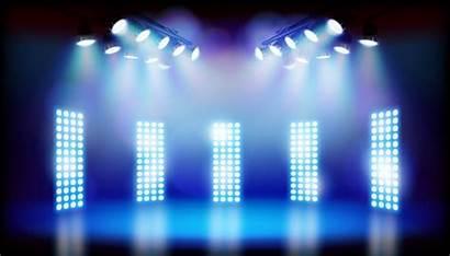 Quiz Stage Tournament Lights