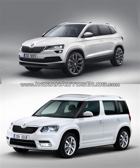 Skoda Karoq Vs Skoda Yeti  Old Vs New