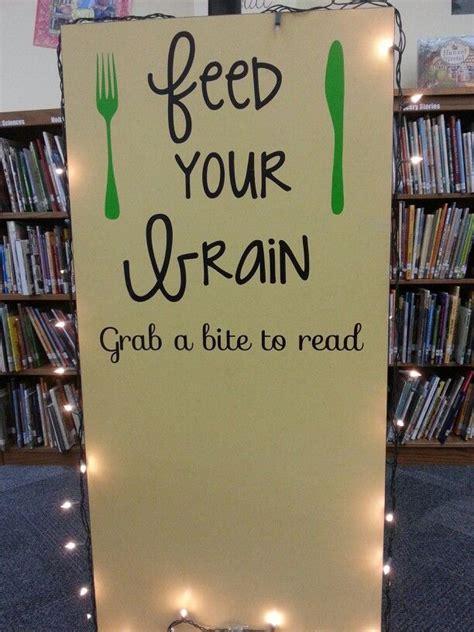 feed  brain grab  bite  read library bulletin