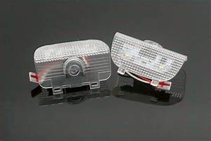 2x White Accord Logo Led Laser Door Projector Lights For