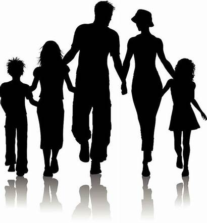 Families Houses Silhouette Don