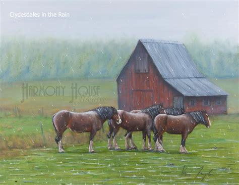 rain horses harmony