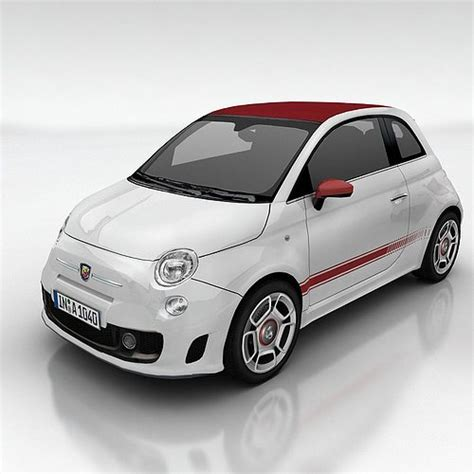 Fiat New Models by Fiat 500 Abarth 3d Model Cgtrader