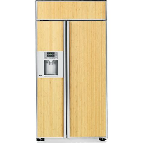 ge profile psbygxsv  cu ft built  side  side refrigerator panel ready sears