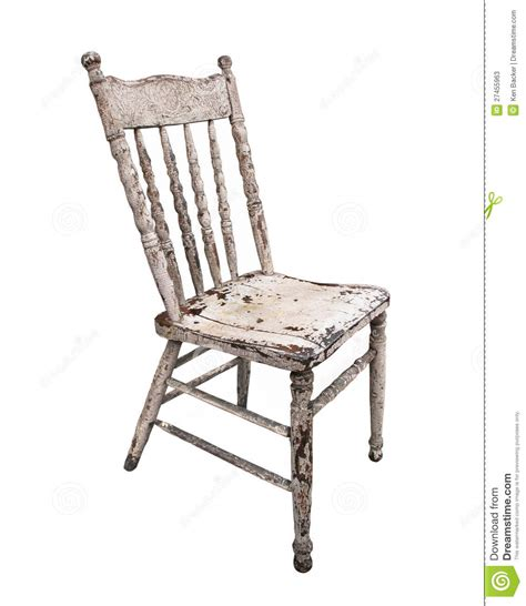 wooden kitchen chairs worn wooden kitchen chair isolated stock image image