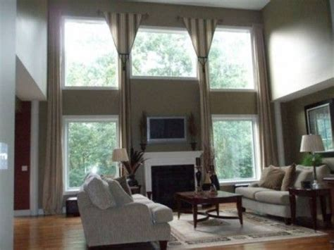 Two Story Great Room Curtains Curtain Call Tickets Secaucus Gold Curtains For Backdrop Inc How To Make Simple Bedroom Iron Rail Brackets Grommet Top Patio Door Triple Rod Rods Sheer Ideas Bay Windows