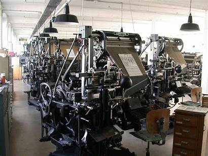 Linotype Mechanical Machines Marvels Hackaday Production Context