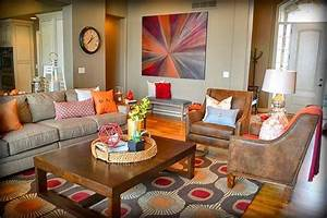 rustic pieces with bold contemporary accents make a warm With warm and inviting rustic living room ideas