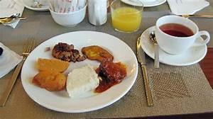 Nigerian breakfast...but there's plenty of normal western ...
