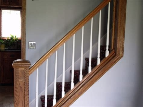 replacing a banister and spindles how to replace stair spindles stairs design ideas