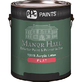 Manor Hall Exterior Paint & Primer In One 100% Acrylic