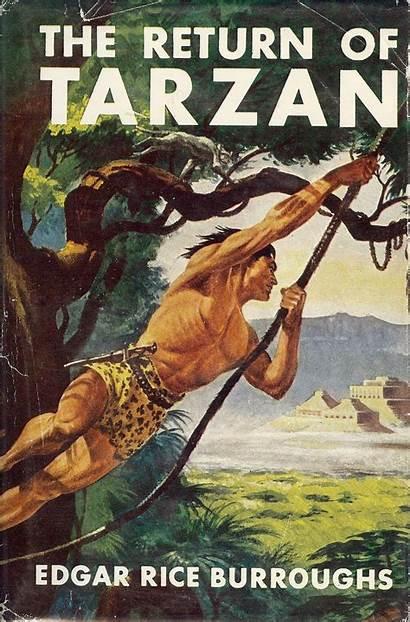 Tarzan Return Rice Edgar Burroughs Books Apes
