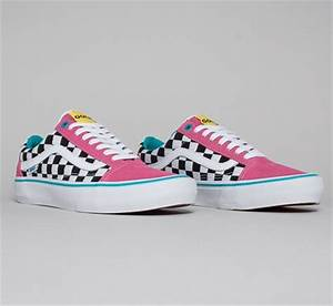 Vans Old Skool Pro Golf Wang Blue Pink White Consortium