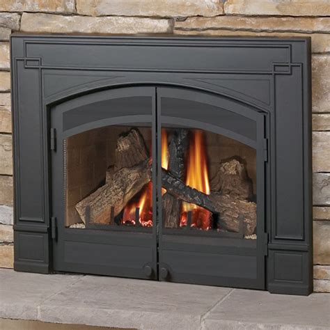 gas fireplace accessories gdi 30n napoleon direct vent gas fireplace insert modern
